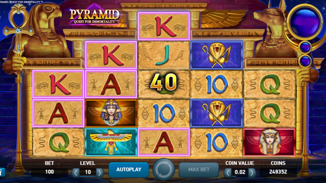 Бонусная игра Pyramid: Quest For Immortality 3