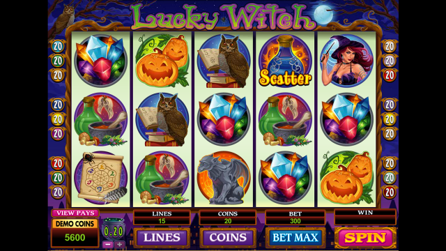 Бонусная игра Lucky Witch 8