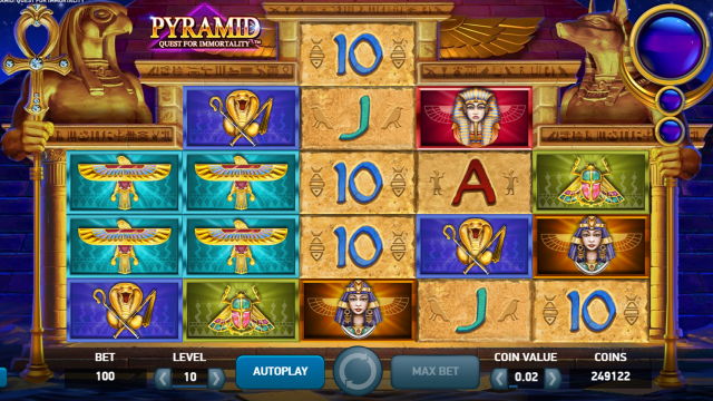 Бонусная игра Pyramid: Quest For Immortality 4