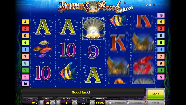 Бонусная игра Dolphin's Pearl Deluxe 10