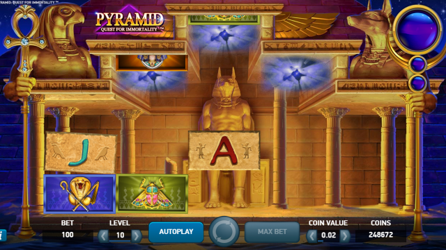 Бонусная игра Pyramid: Quest For Immortality 8