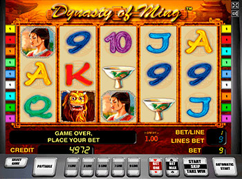 Бонусная игра The Ming Dynasty 1