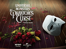 Играйте онлайн на зеркале в аппарат Universal Monsters The Phantom's Curse Video Slot